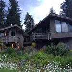 Girdwood Rental - Girdwood Bnb The Nest on Timberline Outside View - Nest is Left Building